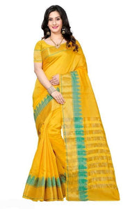 Elite Trendy Banarasi Cotton Silk Sarees