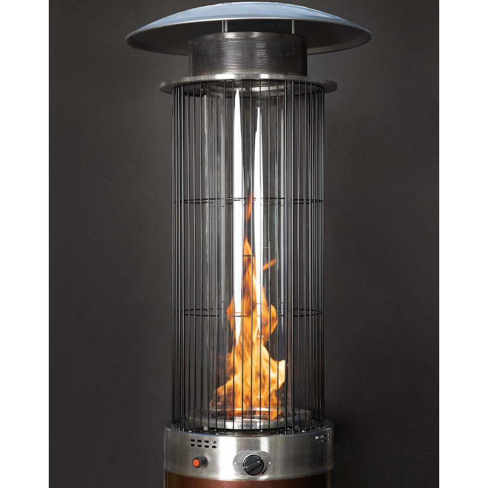 Spiral Flame Patio Heater