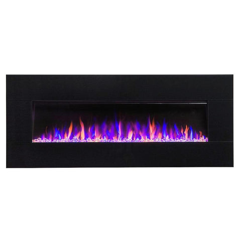 "Audioflare 50"" Electric Fireplace with blutooth speaker"
