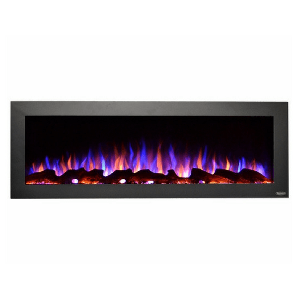 "Outdoor - 50"" Recessed/Wall Mounted Electric Fireplace"