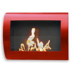 Fireplace Chelsea Wall Mounted Ethanol Fireplace