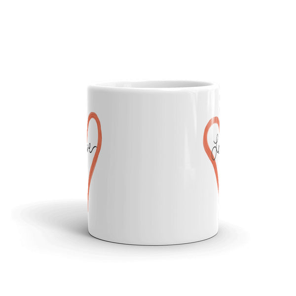 Signature Love Mug | White | 11oz or 15oz