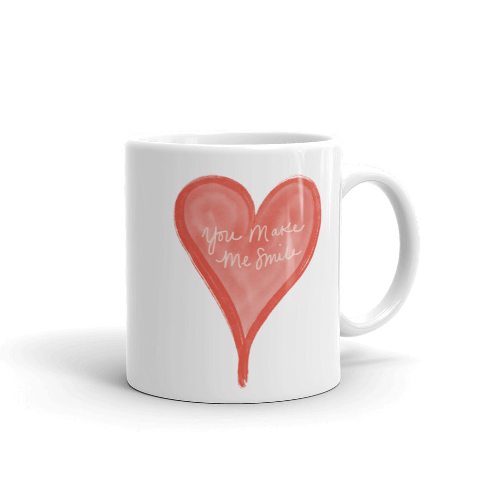You Make Me Smile Classic Mug | White | 11oz or 15oz