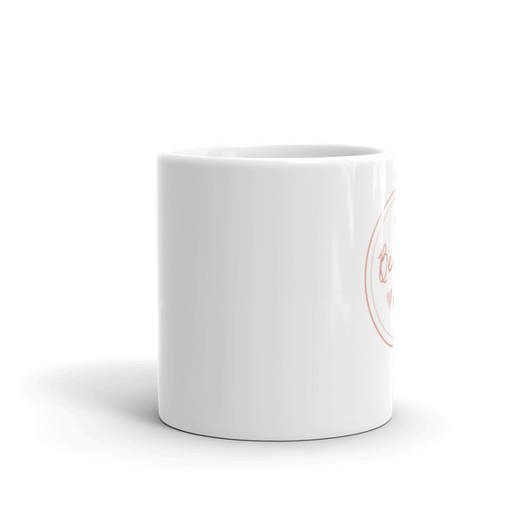Be Mine Circle Mug With Hearts | White | 11oz or 15oz