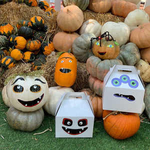 Spooky Halloween Pumpkin Decorating Kit