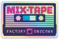 The MIX-TAPE Holographic Sticker