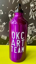 Load image into Gallery viewer, Factory Obscura Artist: Sara Cowan OKC ART TEAM Water Bottles