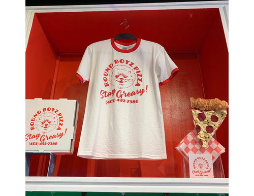Round Boyz Pizza T-Shirt