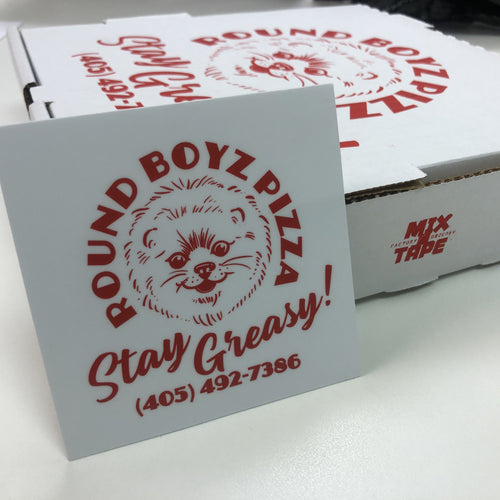 Round Boyz Pizza Sticker