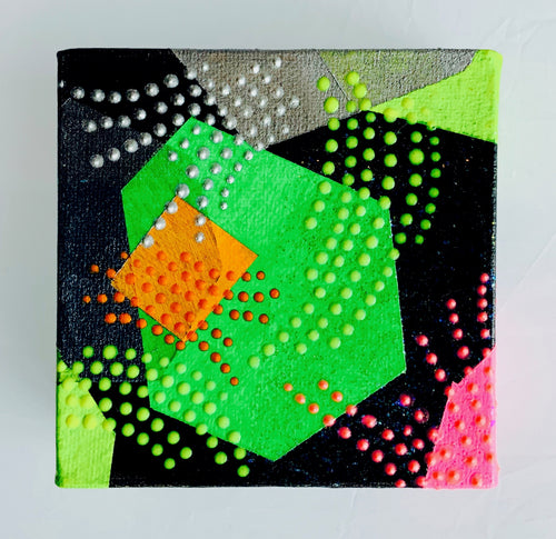 Factory Obscura Artist Sara Cowan: MIX-TAPE Small Paintings