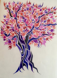 Factory Obscura Artist Chris McDaniel: 11x14 Tree Art Prints