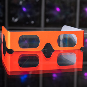 Rainbow Diffraction Glasses