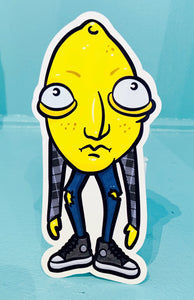 Lemmy (AKA Angsty Lemon) Sticker