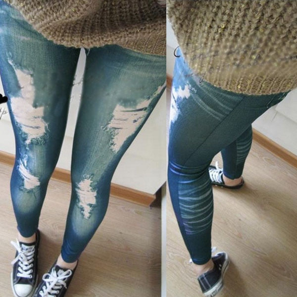 Retro Denim Jegging