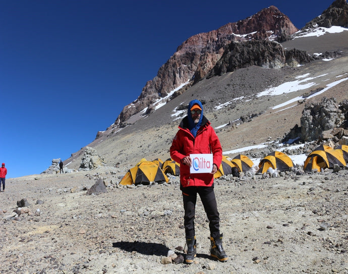 DEREK MAHON CONQUERS ACONCAGUA, HIGHEST MOUNTAIN OUTSIDE THE HIMALAYA'S