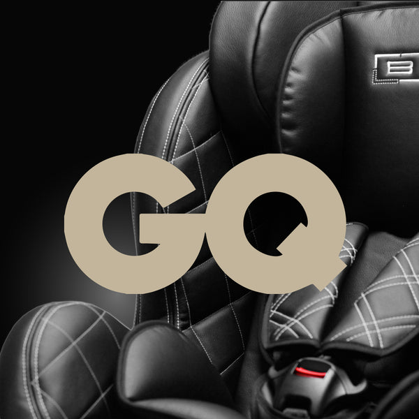 BEBYLUX GQ MAGAZINE BABY CHILDREN TODDLER INFANT LUXURY GROUP 0 0+ 1 2 3 CAR SEAT BMW MERCEDES ROLLS ROYCE AUDI PORSCHE FERRARI BEST SAFE ISOFIX ISIZE i SIZE