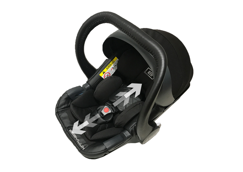 SAVE £50  |   CAR SEAT + FOOTCOVER + BLACK FUR