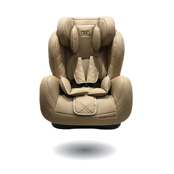 BEBYLUX Group 0 0+ 1 2 3 infant toddler baby leather luxury designer mercedes audi bmw porsche range rover volkswagon vw rolls royce car seat ISOFIX ECE R44 easy clean 9 15 36 kg