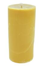 Load image into Gallery viewer, Pillar beeswax candle