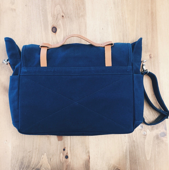 30% OFF - Sandqvist Izzy Messenger Bag - Blue