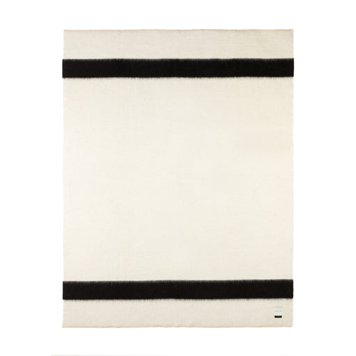 Blacksaw The Siempre 100% Recycled Blanket - Ivory/Black