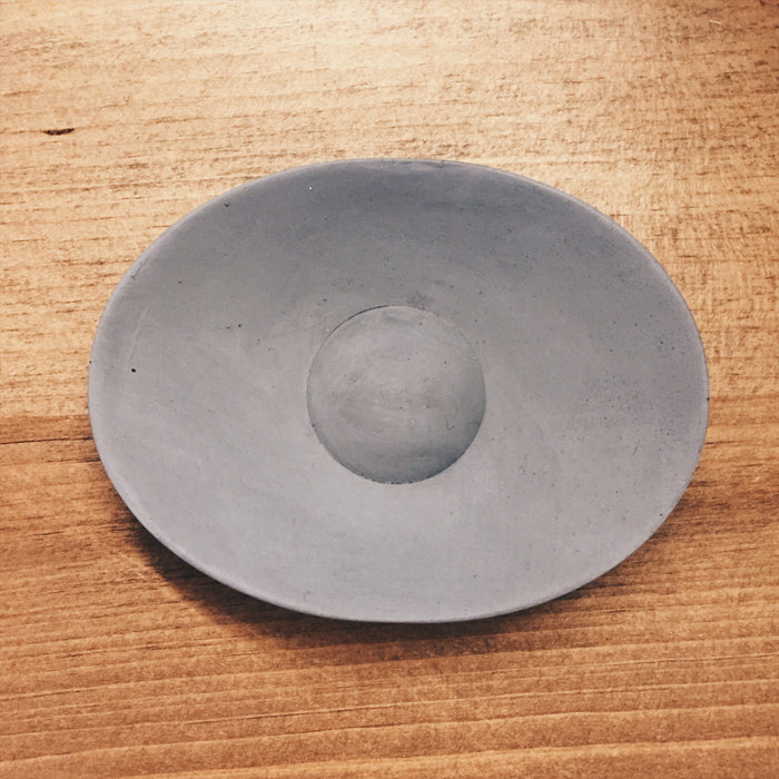 Iris Hantverk Concrete Soap Dish - Light Grey