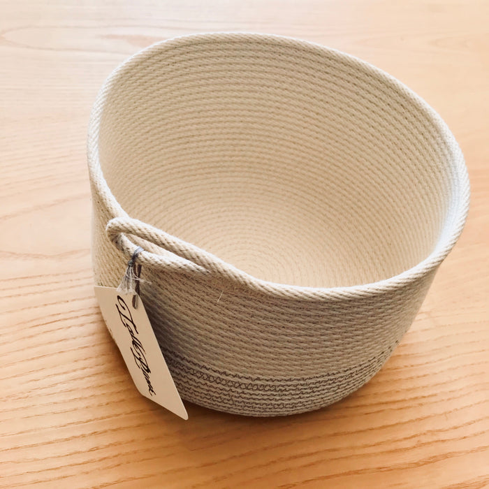 Tall Pines Cotton Rope Bowl Medium