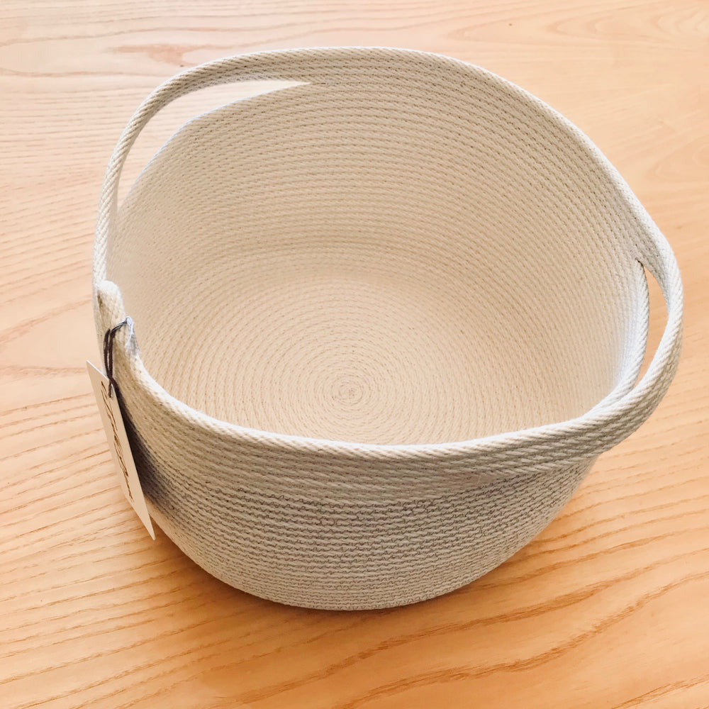 Tall Pines Cotton Rope Bowl Large