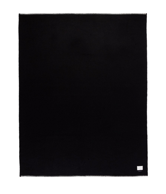 Blacksaw The Siempre 100% Recycled Blanket Black