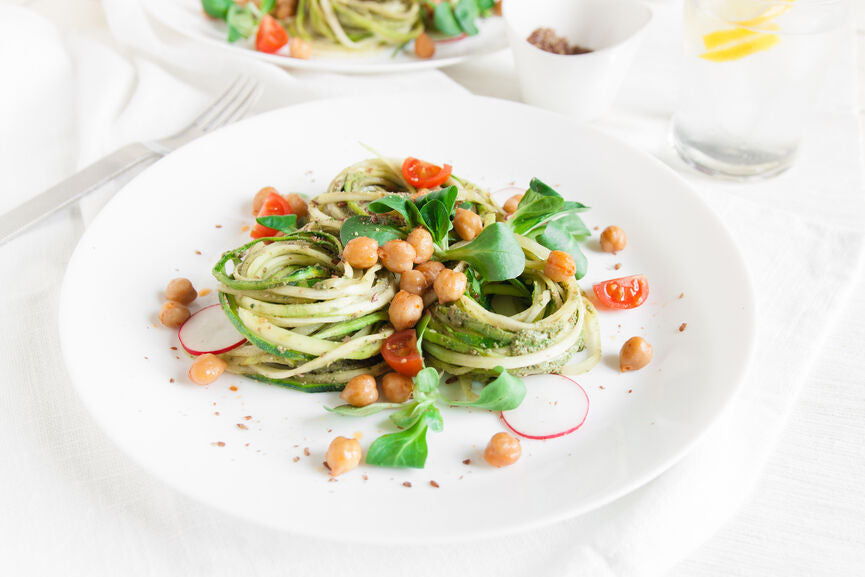 RECIPES: Raw Zoodles 3 Ways