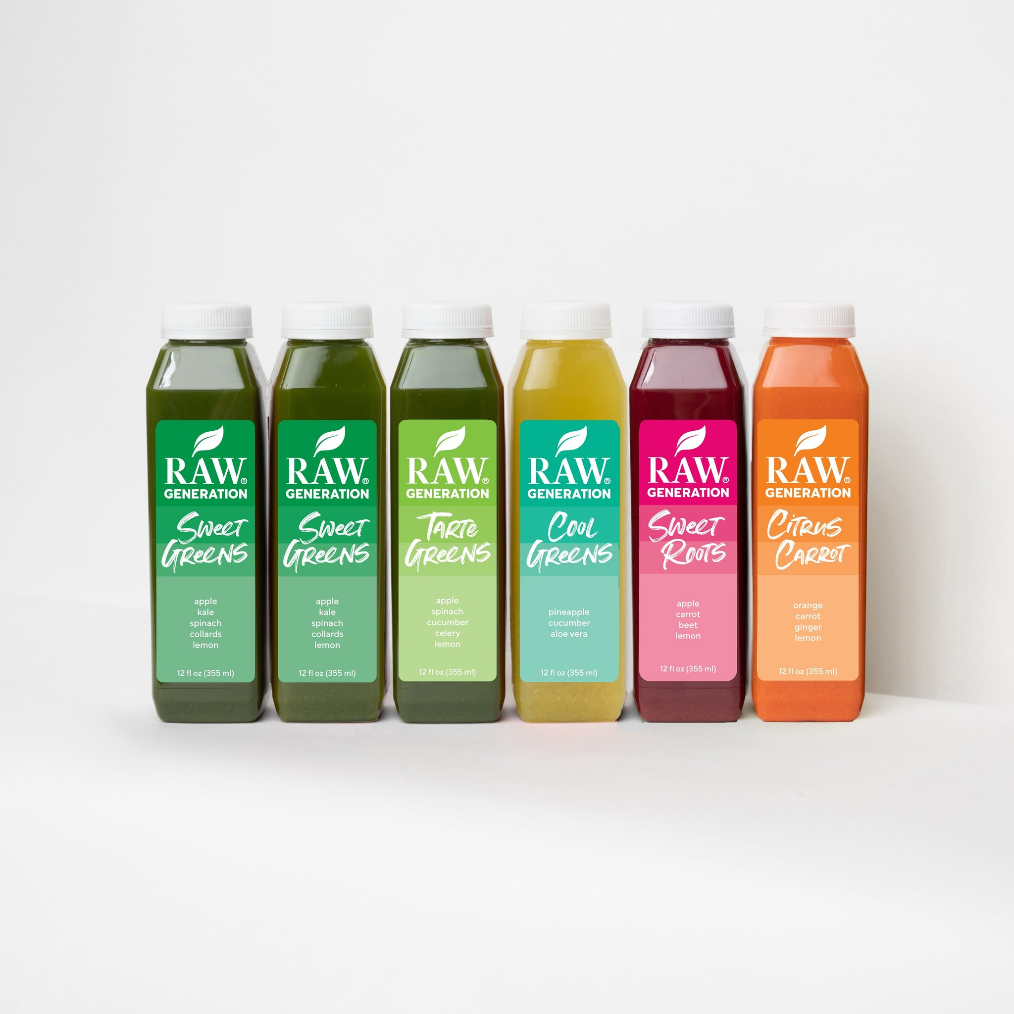 Cold Pressed Juices 5 Flavor Variety Pack