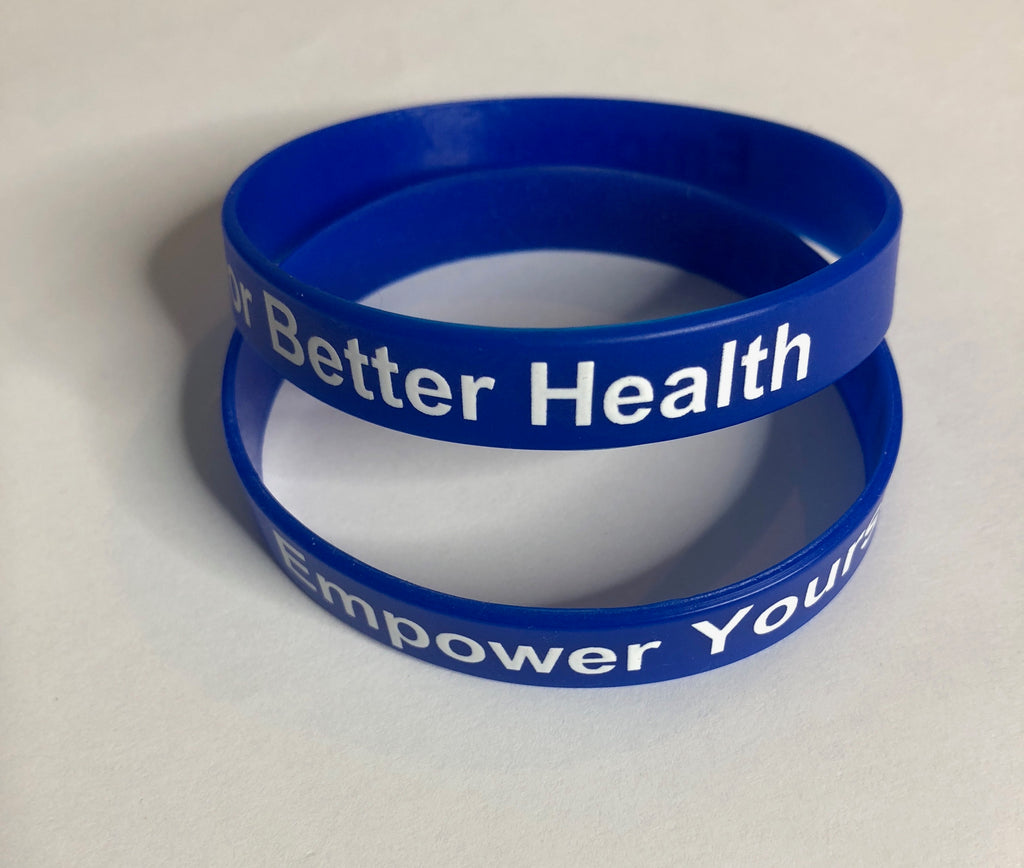 Empower Yourself For Better Health Wrist Bands