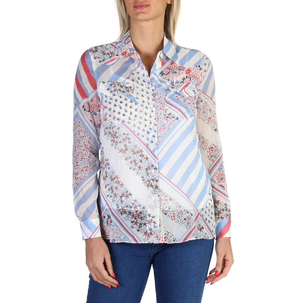 Tommy Hilfiger - WW0WW18336 - Women's Silk Shirt