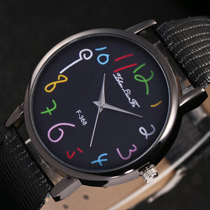 Watch Candy Color Male And Female Strap Wrist Watch