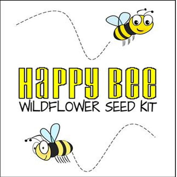 Happy Bee Wildflower Seed Kit