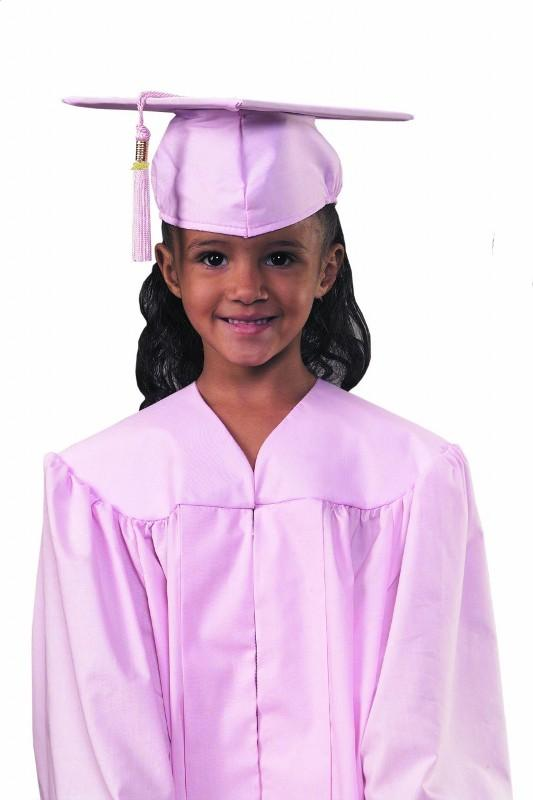 MiniGrad Cap and Gown Basic Set - #44 POLYESTER FABRIC
