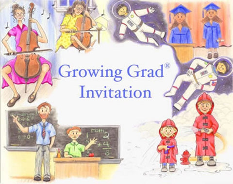 3300IGG Growing Grad Invitations