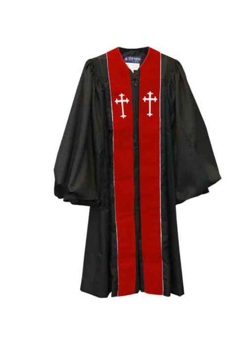 4433 SPL Clergy Robe - Thomas Creative Apparel