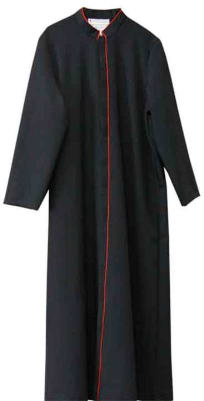 2231 RAC Cassock (40 D) - Thomas Creative Apparel