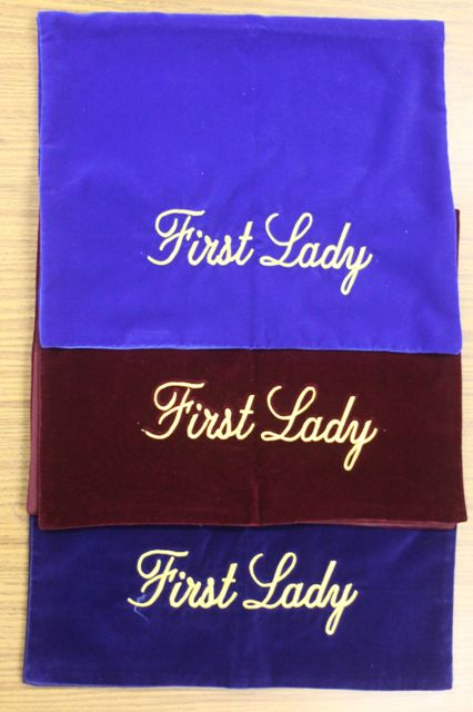 First Lady Pew Markers - Thomas Creative Apparel