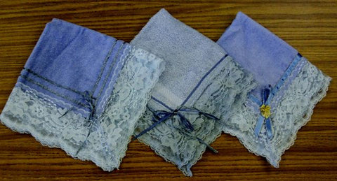 Fancy Lace Hand Towels - Thomas Creative Apparel