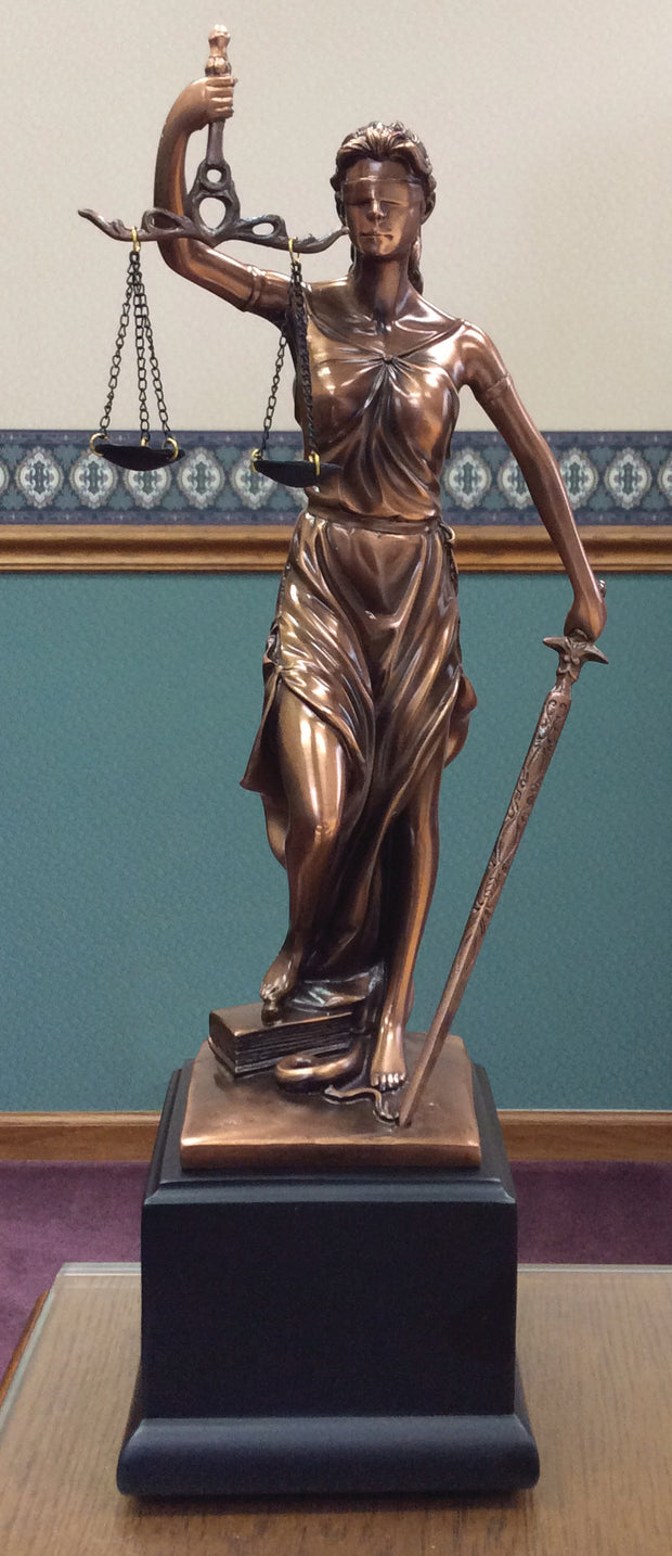 Lady Justice Statue - Thomas Creative Apparel