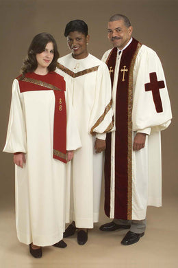 2006T 6601T 4437T Choir Robes and Clergy Robe