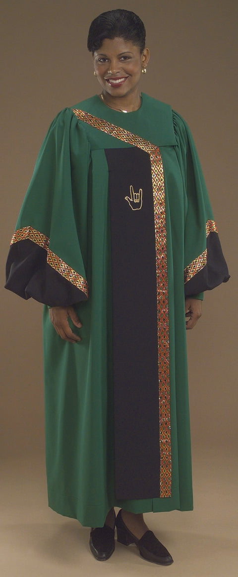 7702S Gospel Robes - Thomas Creative Apparel