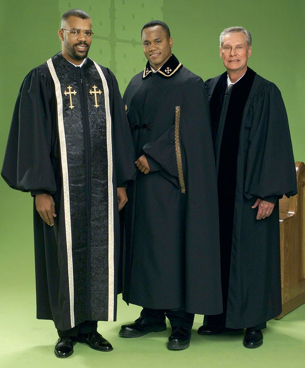 4436T 4473T 4430 Clergy Robe and Cape - Thomas Creative Apparel