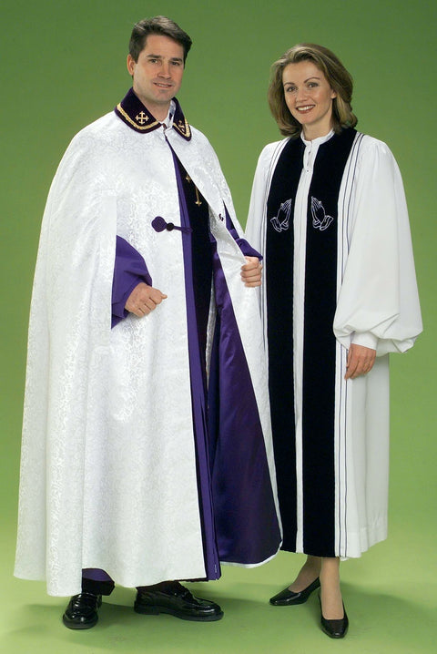 4473 4441 Clergy Robe & Cape - Thomas Creative Apparel