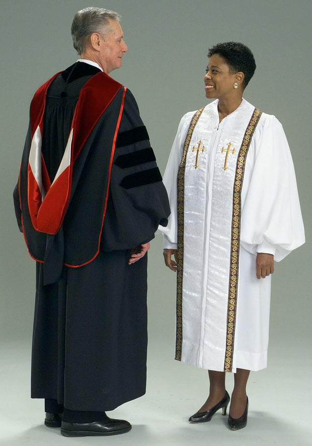 4503 4501 4502 4441V Clergy Robe & Doctoral Hood - Thomas Creative Apparel