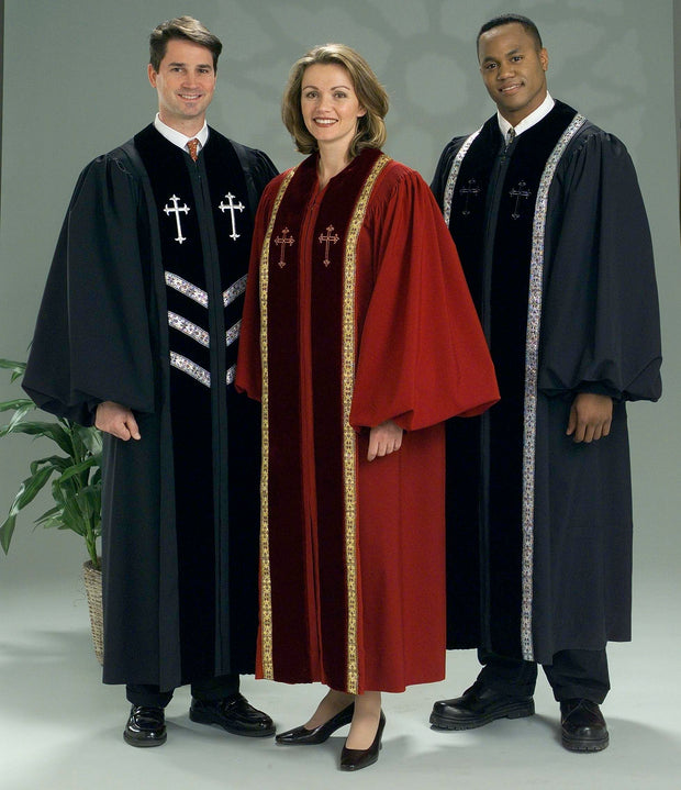 4433P 4436P Clergy Robes - Thomas Creative Apparel