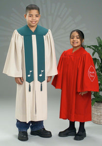 3313 3309 Youth Choir Robes