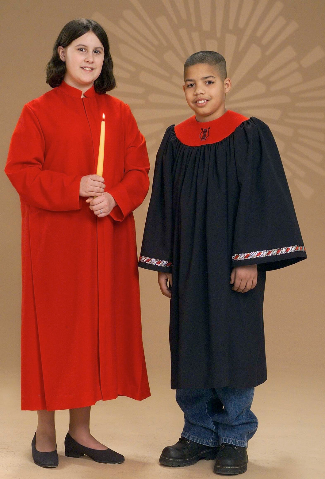 2231J 3100T Youth Choir Robes